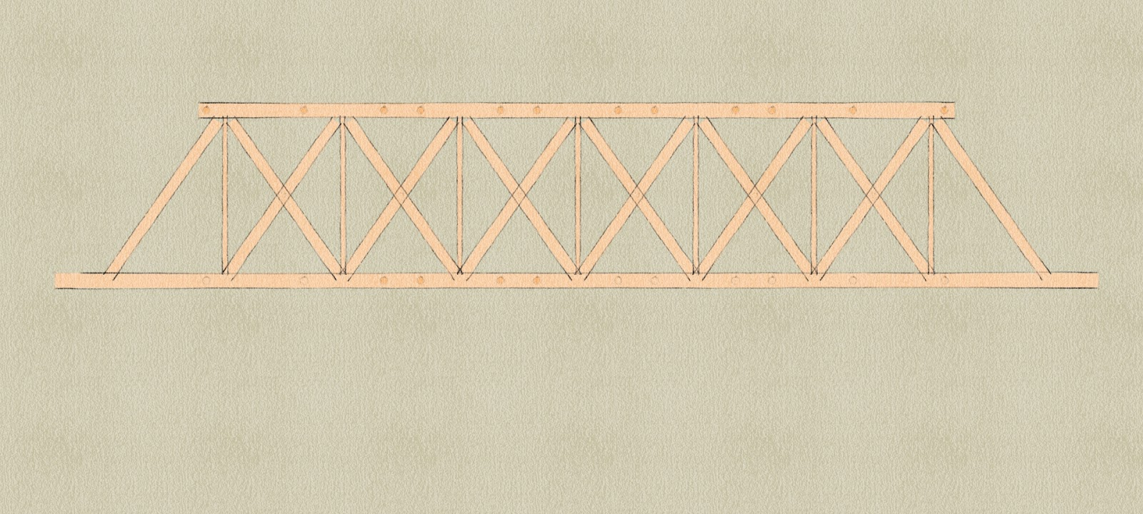 Paper Truss Bridge