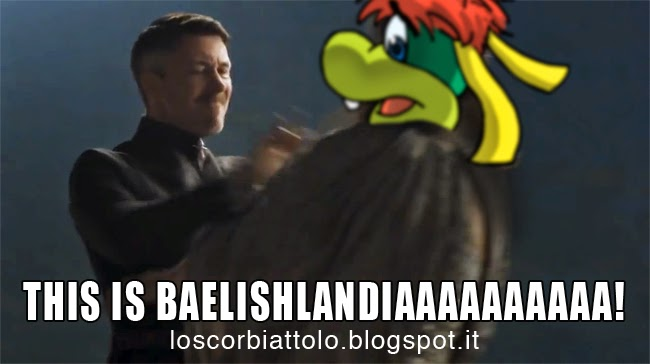 lord baelish vs prezzemolo game of thrones il trono di spade