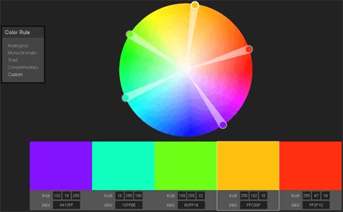 Color-wheel-picker