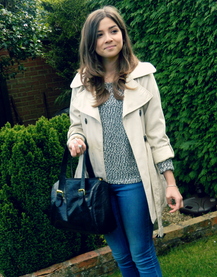 Love From Lisa Trench Coat Outfit Style Post
