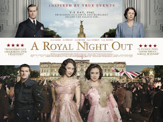 Sinopsis A Royal Night Out (2015)