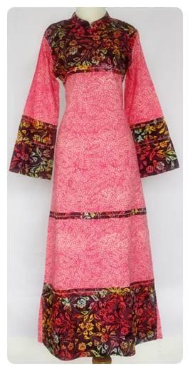 Model Baju Batik Muslim Modern Plus Gambar Terbaru