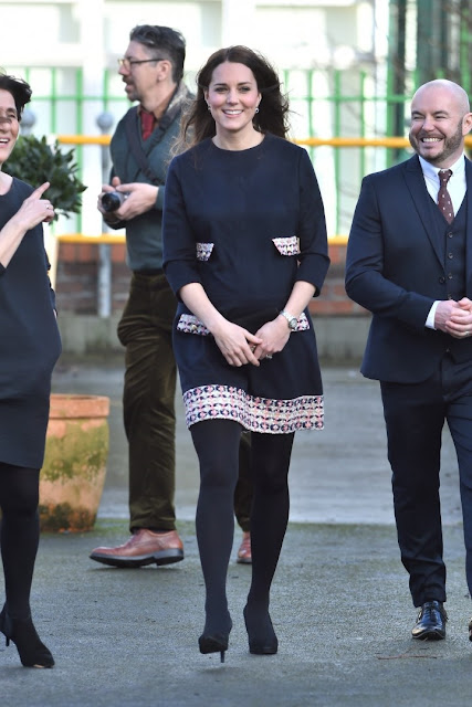 Kate Middleton visited a London primary school