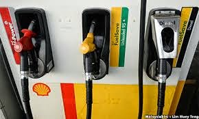 Harga Minyak Petrol RON95 RON97 Dan Diesel Mac 2015