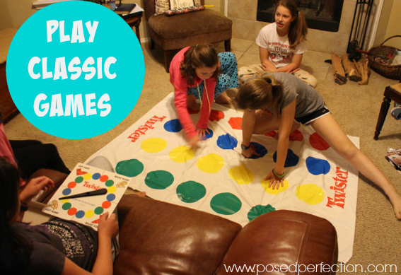 Games are almost essential at birthday parties. Why not pull out some old favorites like Twister and Jenga?