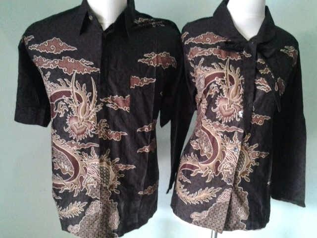Foto Baju Batik Naga