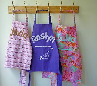 Freshly Completed: Free Children's Apron Pattern + Tutorial