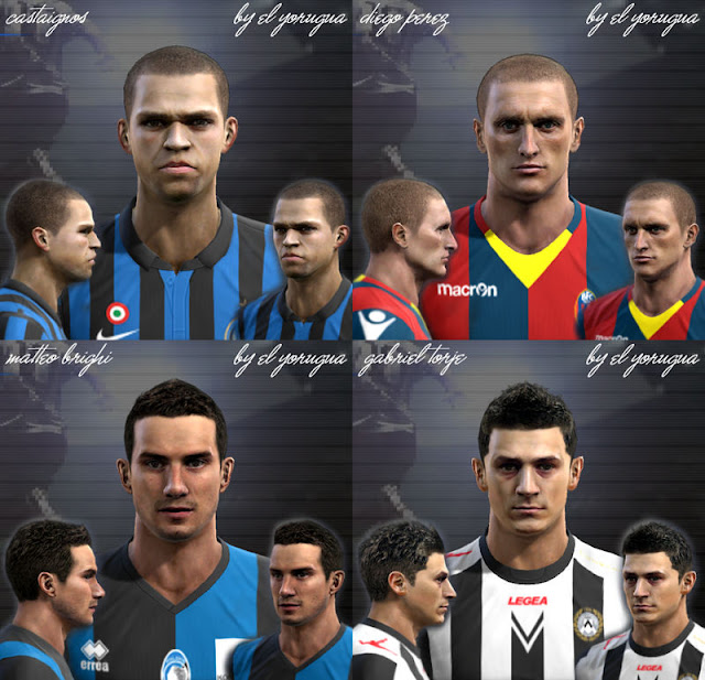 Preview PES 2012: Facepack Serie A