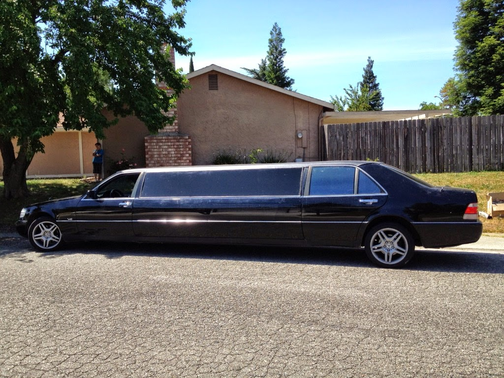 Mercedes 500sel w140 limousine benztuning for Mercedes benz limo