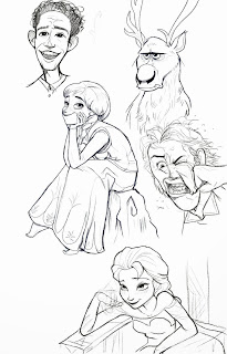 Frozen Drawings