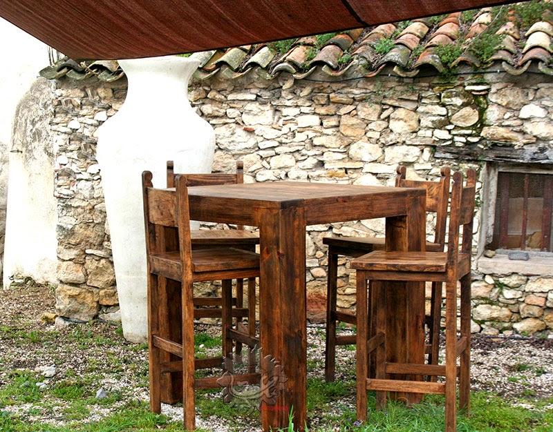 Amadera meuble et d coration le charme thique du for Mobilier table haute