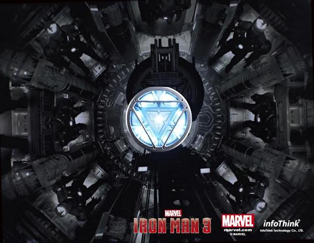 Iron Man 3 Arc Reactor Symbol Iron Man 3 Arc Reactor Led