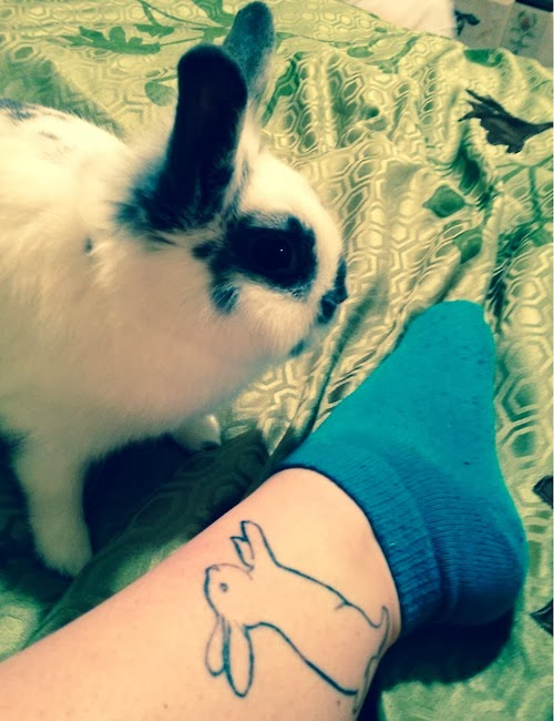 Bunnies In Tattoos