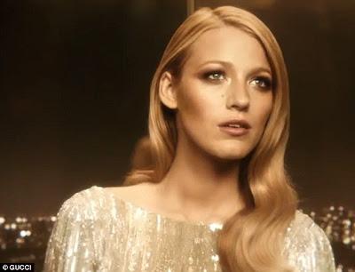 Blake Lively Gucci's Premiere Perfume Advert