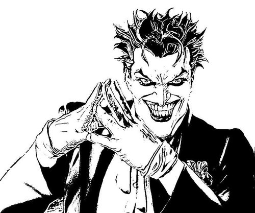 Printable Coloring Pages Joker Free Batman And