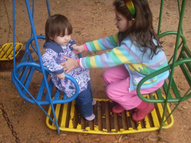 a importância da pracinha para as crianças