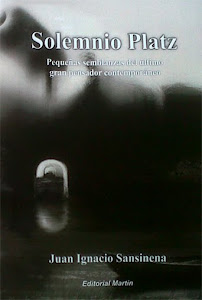 """Primer libro: """"Solemnio Platz"""", editado en 2013."""