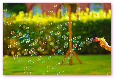 Imagem de bolhas de sabão
