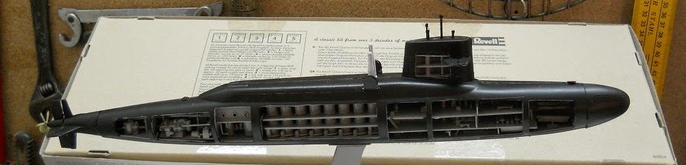 revell abraham lincoln submarine