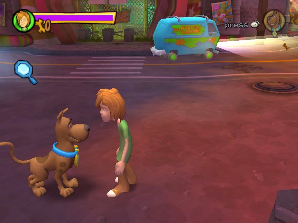 free scooby doo games