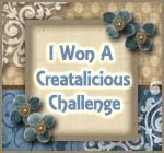 Top 5 at Creatalicious Blog challenge July 2011