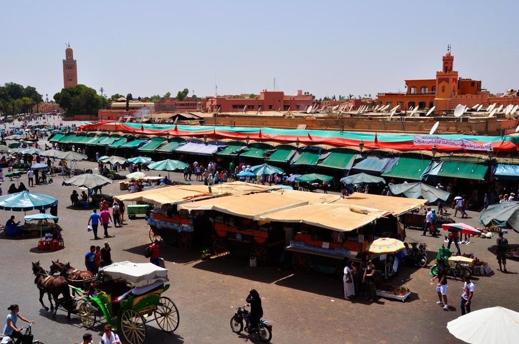 viajar a marrekech