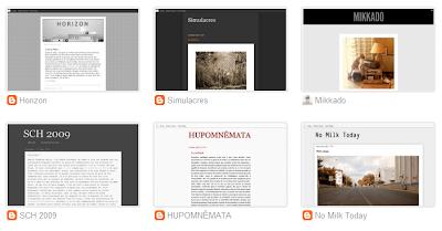 mes blogs capture