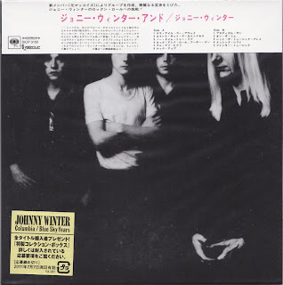 JOHNNY WINTER AND - JOHNNY WINTER AND (COLUMBIA 1970) Jap DSD mastering cardboard sleeve + 2 bonus