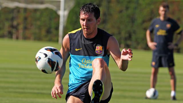 Messi se propone a ser mucho mejor esta temporada