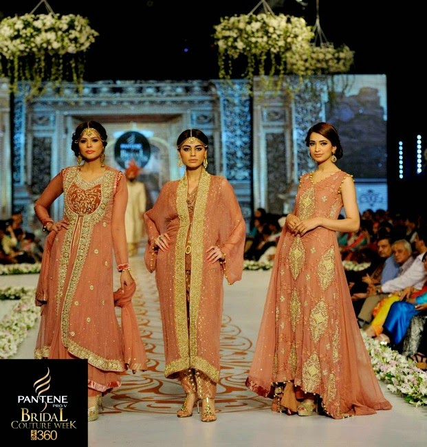Nauman Arfeen Bridal and Groom Fashion Show at PBCW-2014