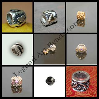 Handmade Beautiful Sterling Silver Large Hole Beads