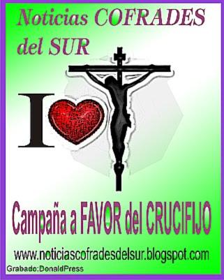 Yo amo el CRUCIFIJO y sigo a CRISTO. Campaña a favor del Crucifijo