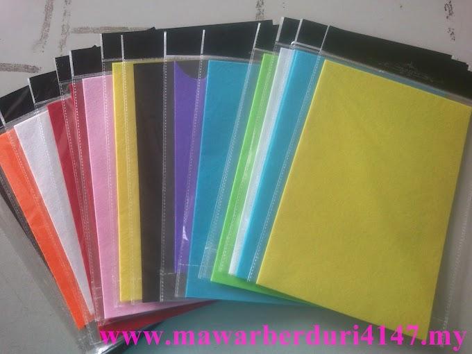 kain felt untuk dijual