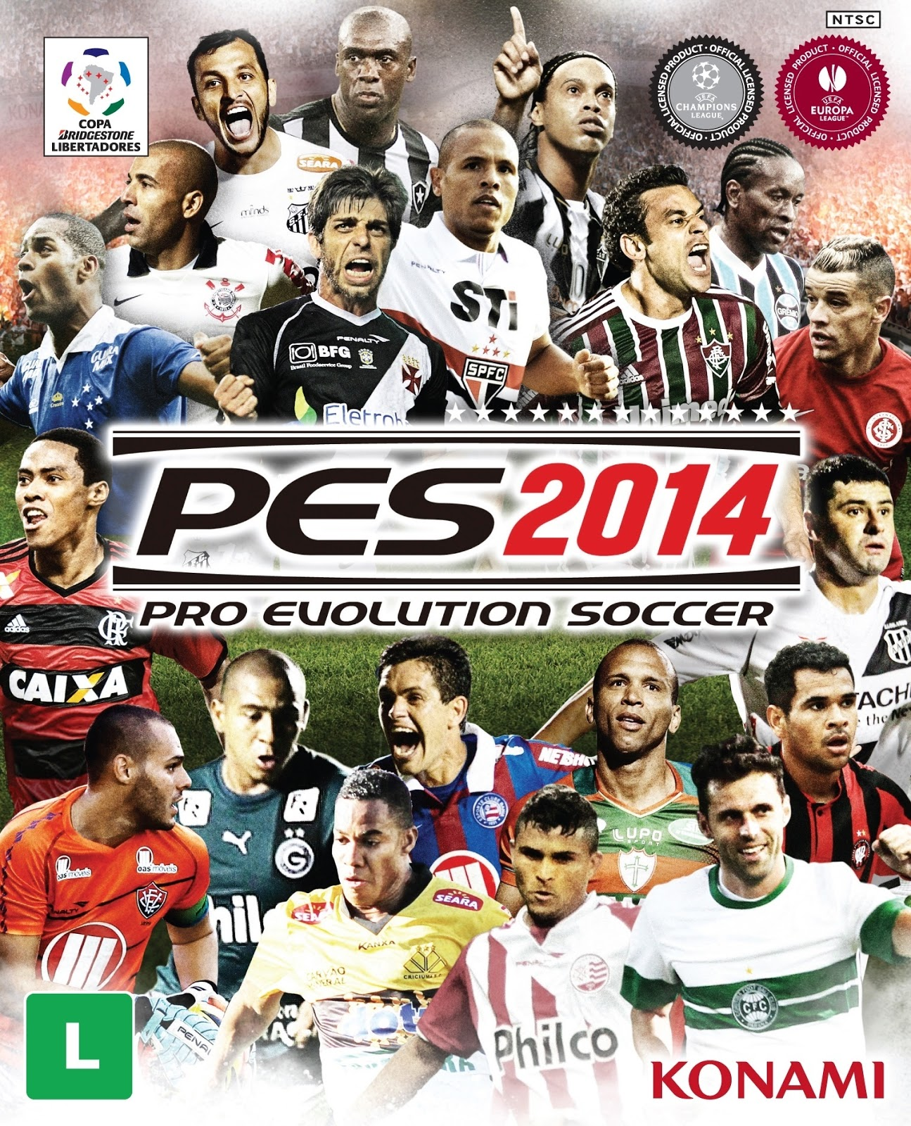 Pro Evolution Soccer 2014 PC   Completo BR