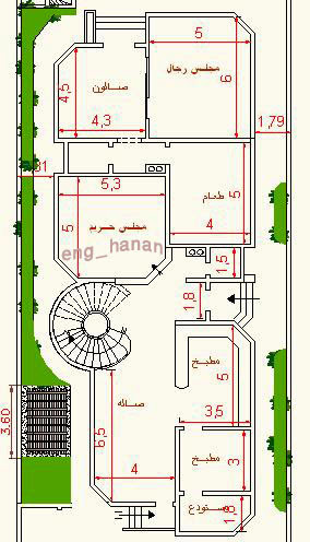 Awesome arabic house plans details for Lebanese home designs