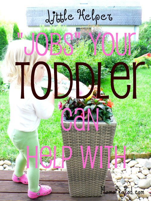 toddler chores for little helpers