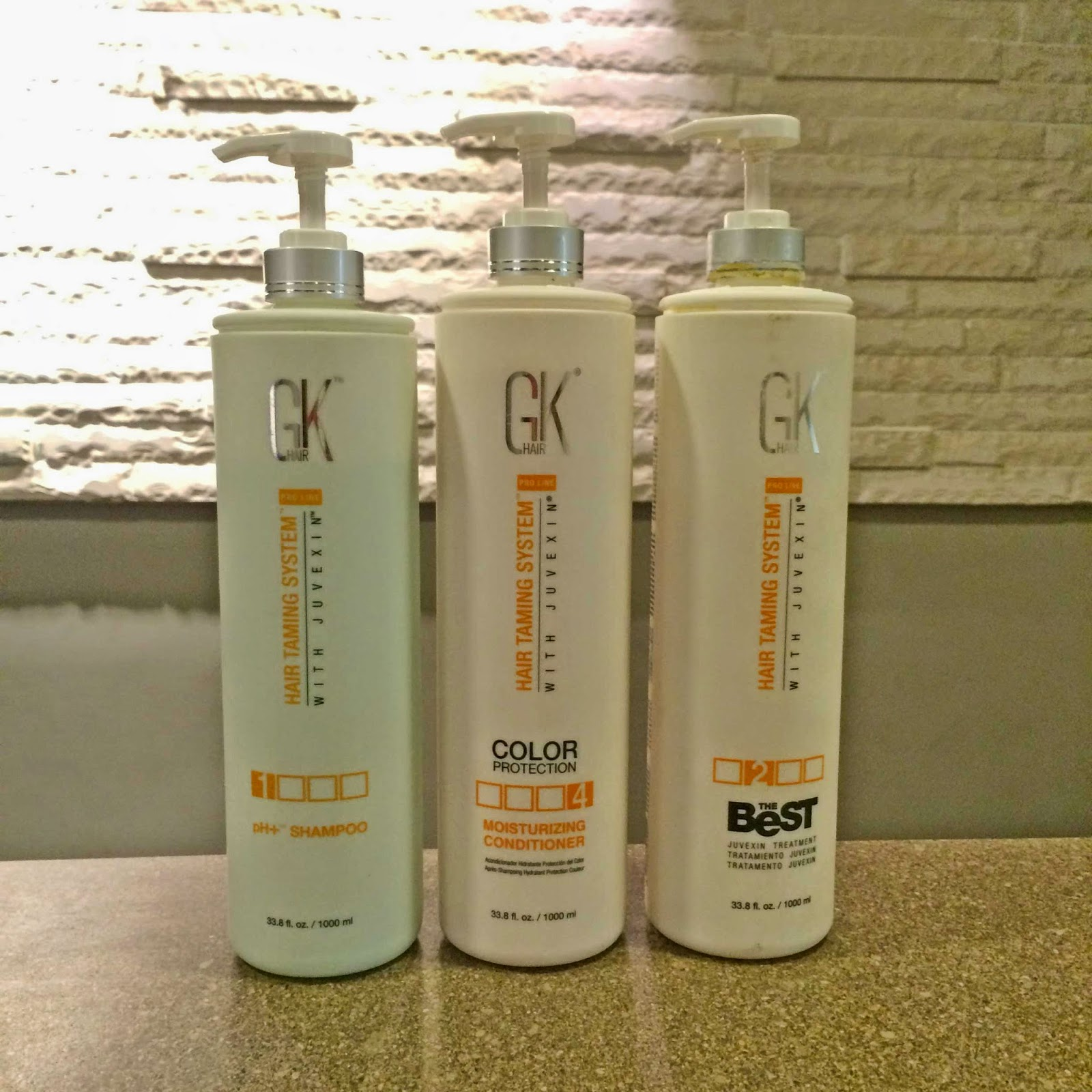 GK keratin treatment hair products