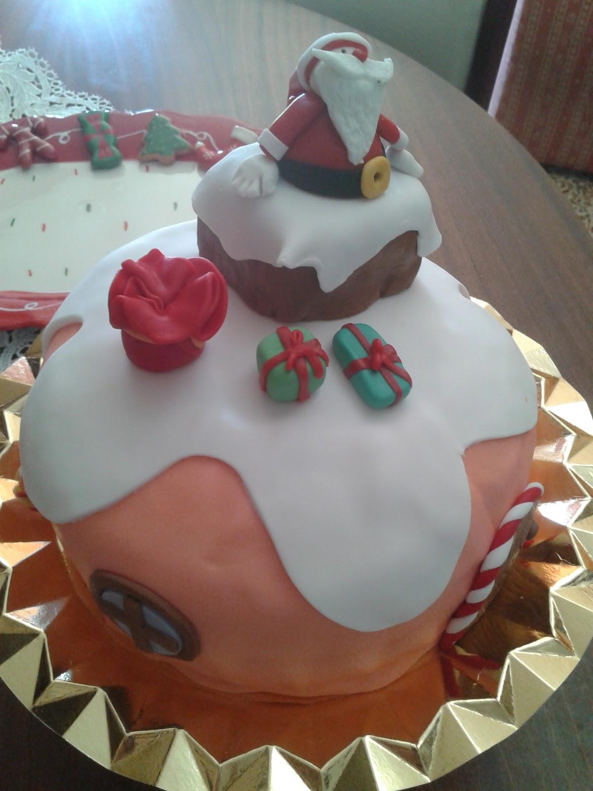Cupcakes tenerife pap noel en la chimenea - Cupcakes tenerife ...
