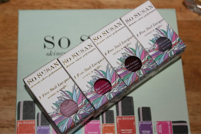 So Susan Nail Lacquer Love Subscription Box