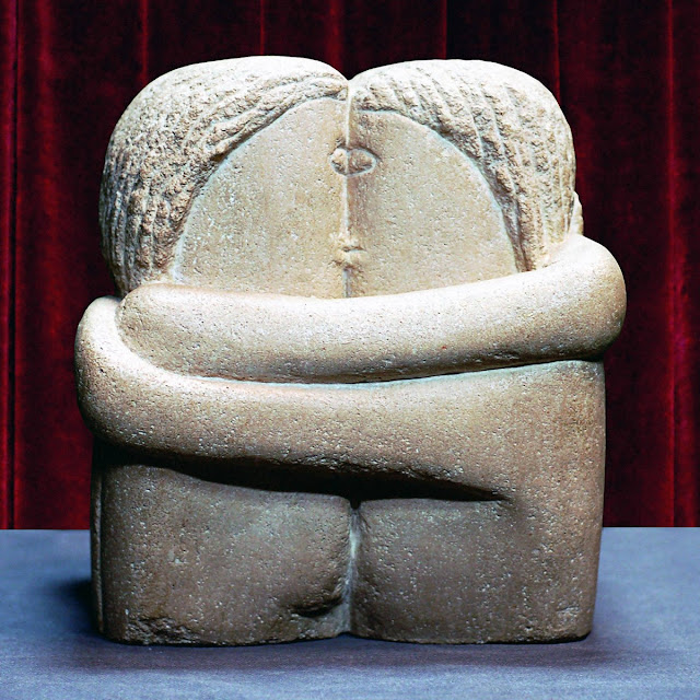 Constantin Brâncuși: The Kiss