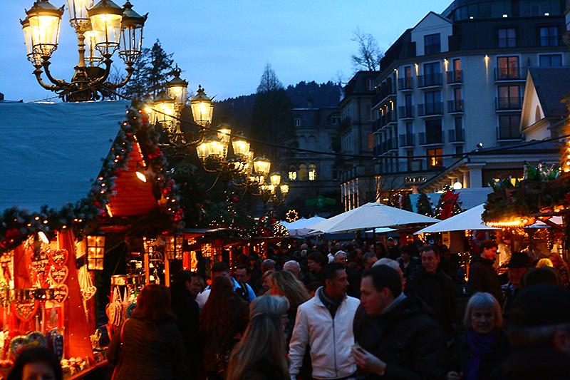 Christmas market in Baden-Baden