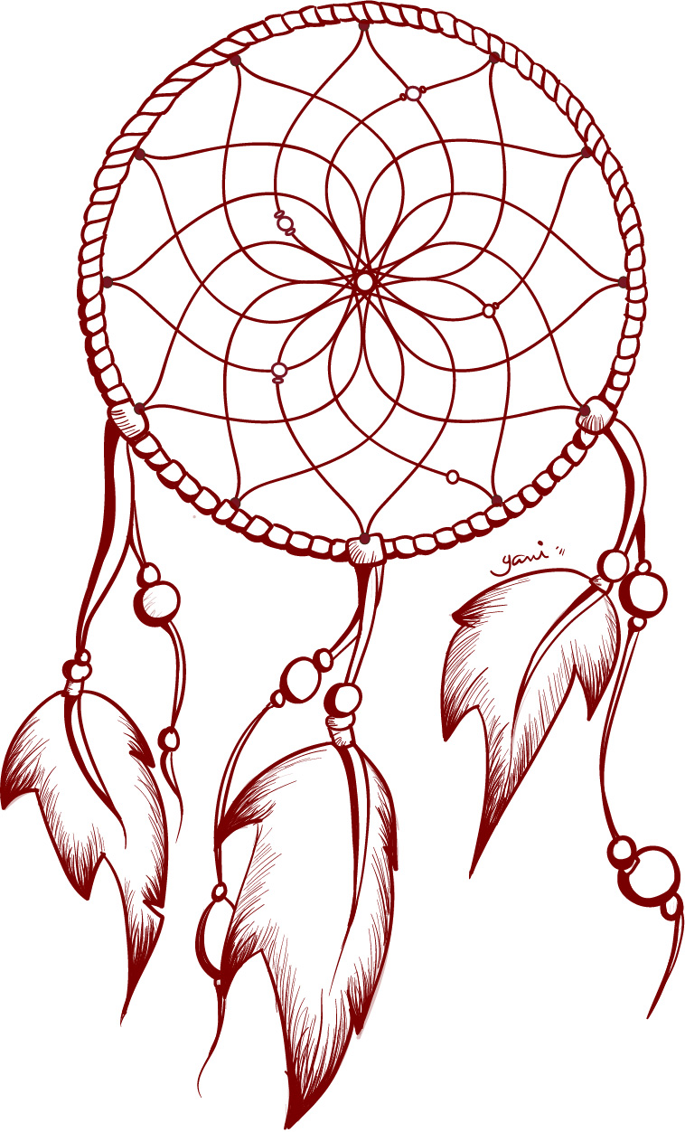 Gallery For gt Dreamcatcher Outline