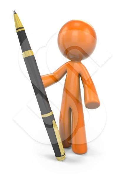 Ballpoint Pen Man7
