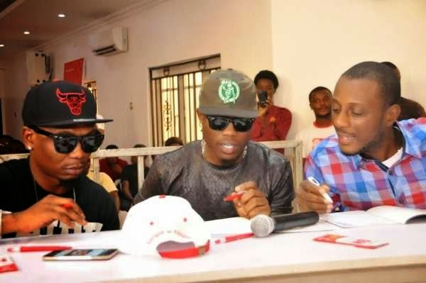 Olamide, 9ice, ID Cabasa reunite for CodedTunes Reunion Concert