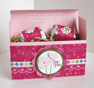 """For You"" Treat Box Filled With Wrapped Chocolate Candy"