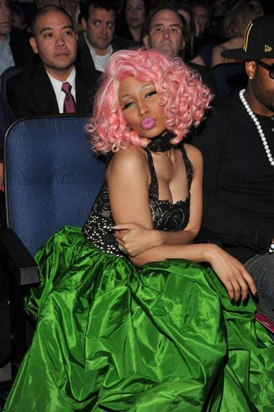 Nicki Minaj & Drake no American Music Awards 2011