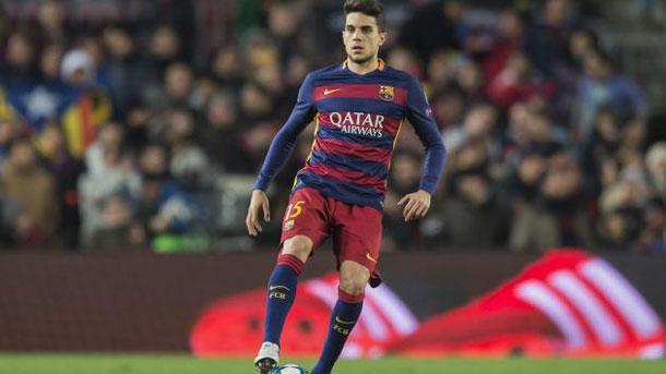 Marc Bartra no está teniendo los minutos que esperaba en el Barça