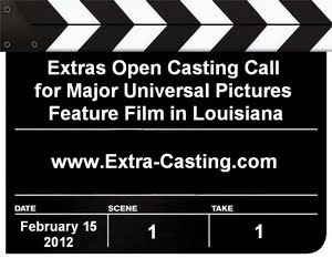 Tom Cruise Project Extras Casting Call