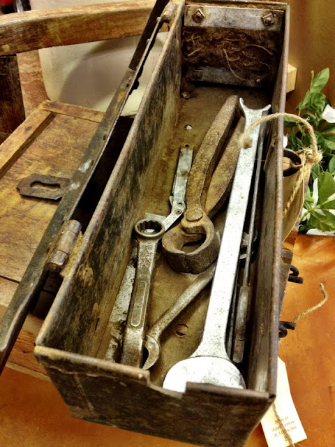 rusty old tool box