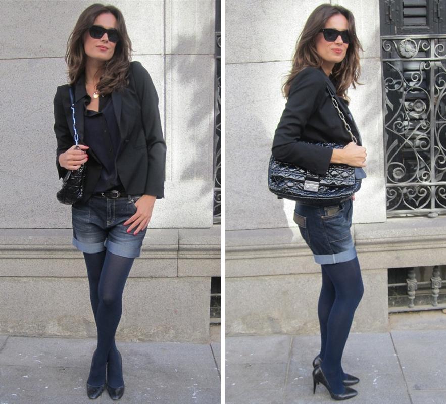 El blog de mar saura look con short vaquero blazer de zara - Zara roquetas de mar ...